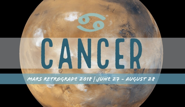 Mars Retrograde 2018 - Cancer