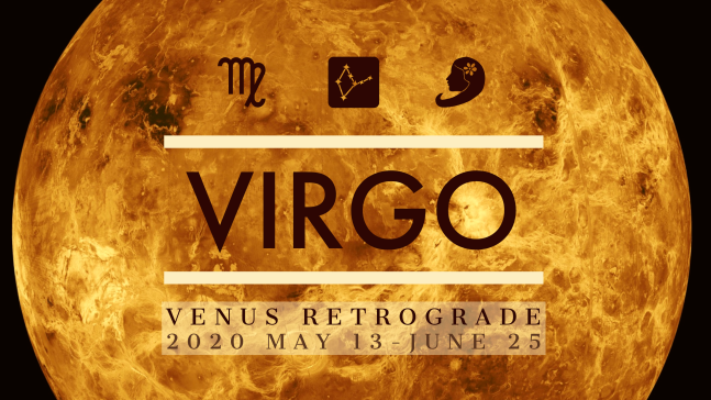 2020 Venus Retrograde:06 Virgo