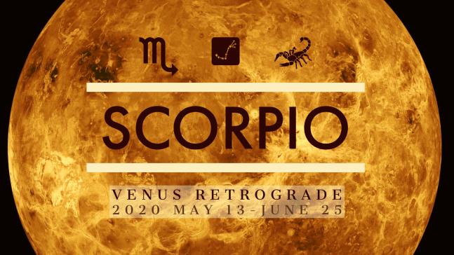 2020 Venus Retrograde:08 Scorpio