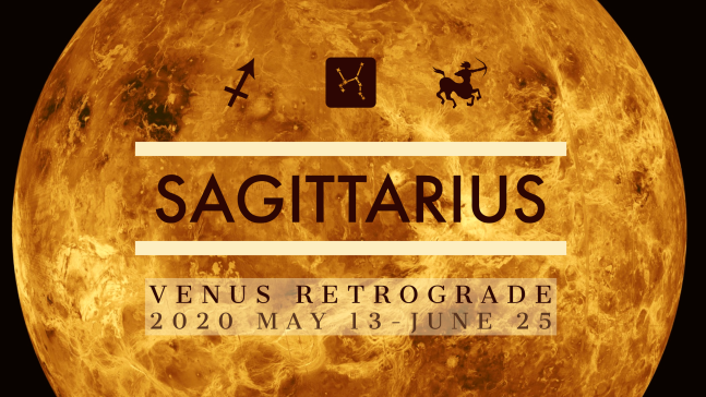 2020 Venus Retrograde:09 Sagittarius