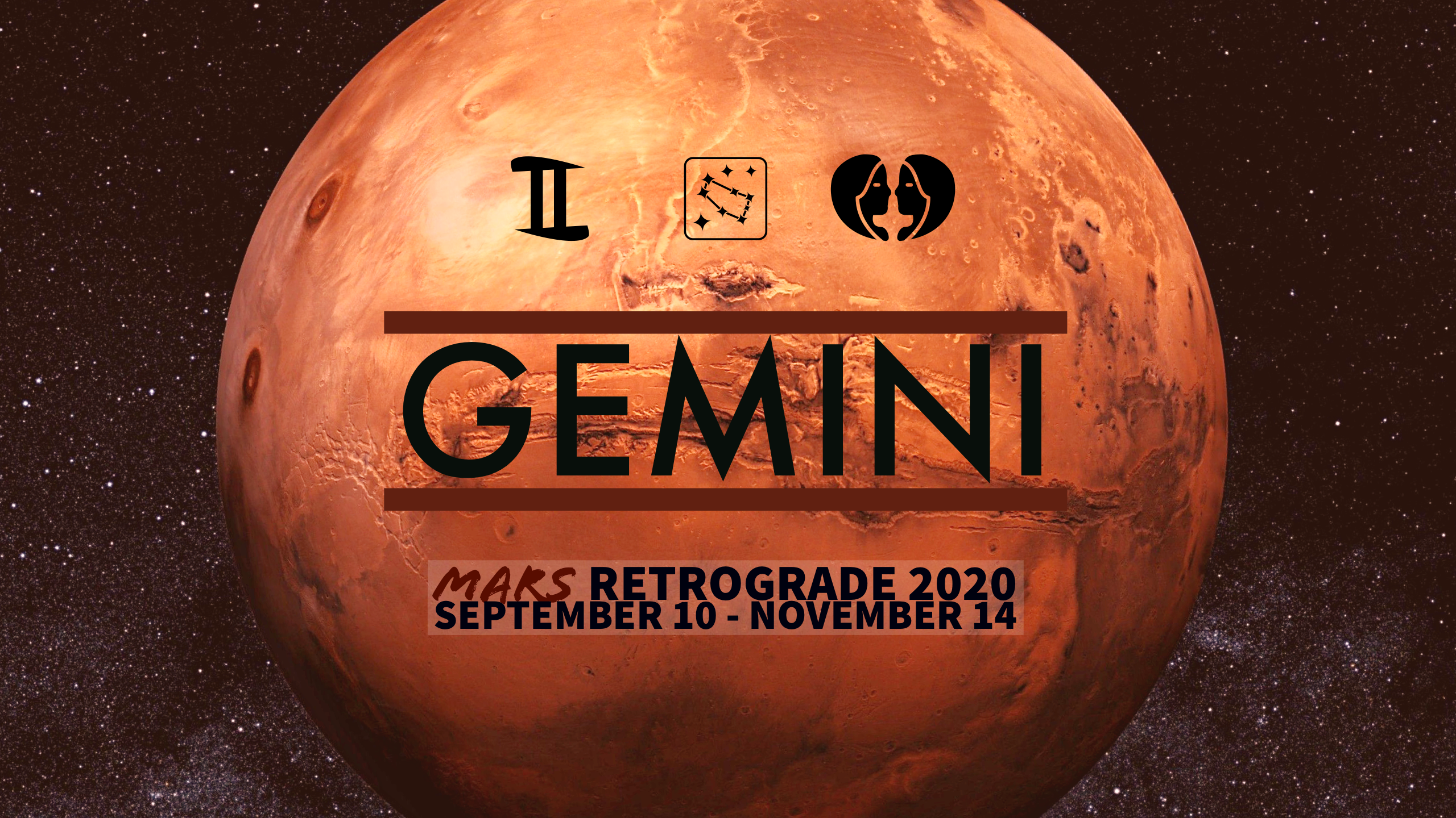 2020 Mars Retrograde:03 Gemini