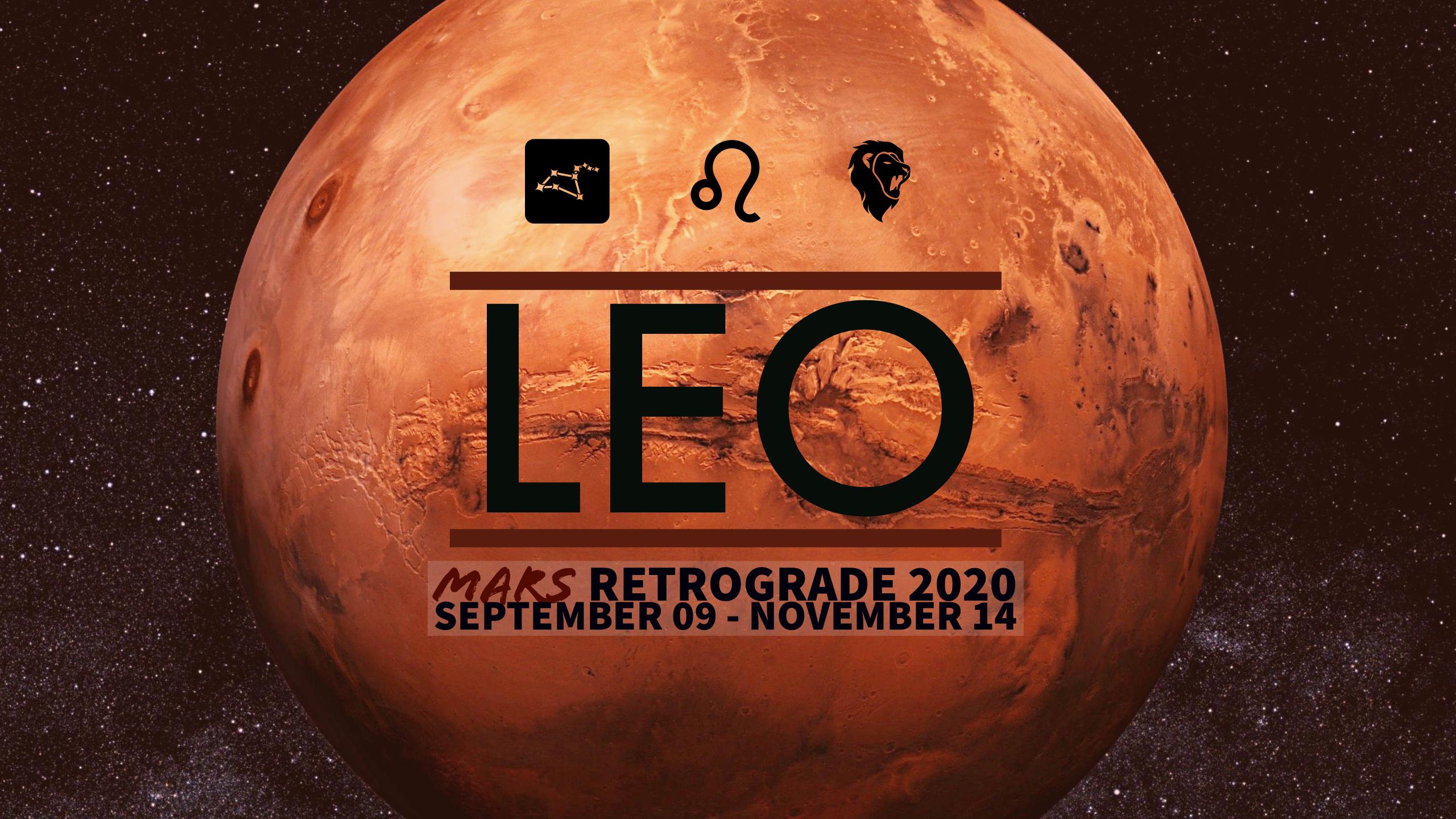 2020 Mars Retrograde:05 Leo