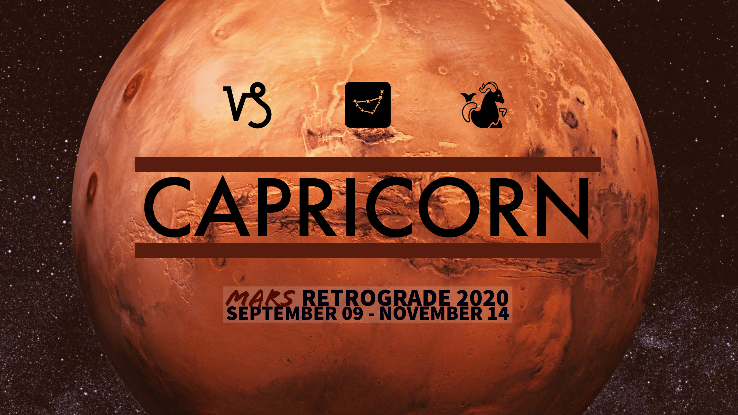 2020 Mars Retrograde:10 Capricorn