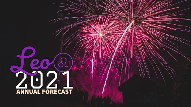 Annual Forecast 2021:Banner:05 Leo