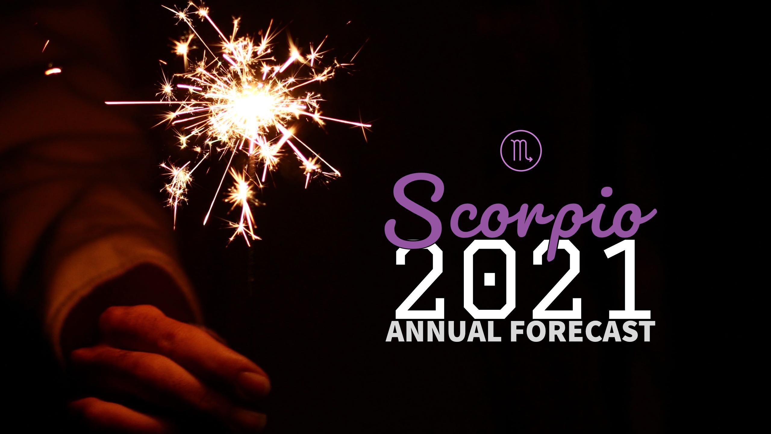 Annual Forecast 2021:Banner:08 Scorpio