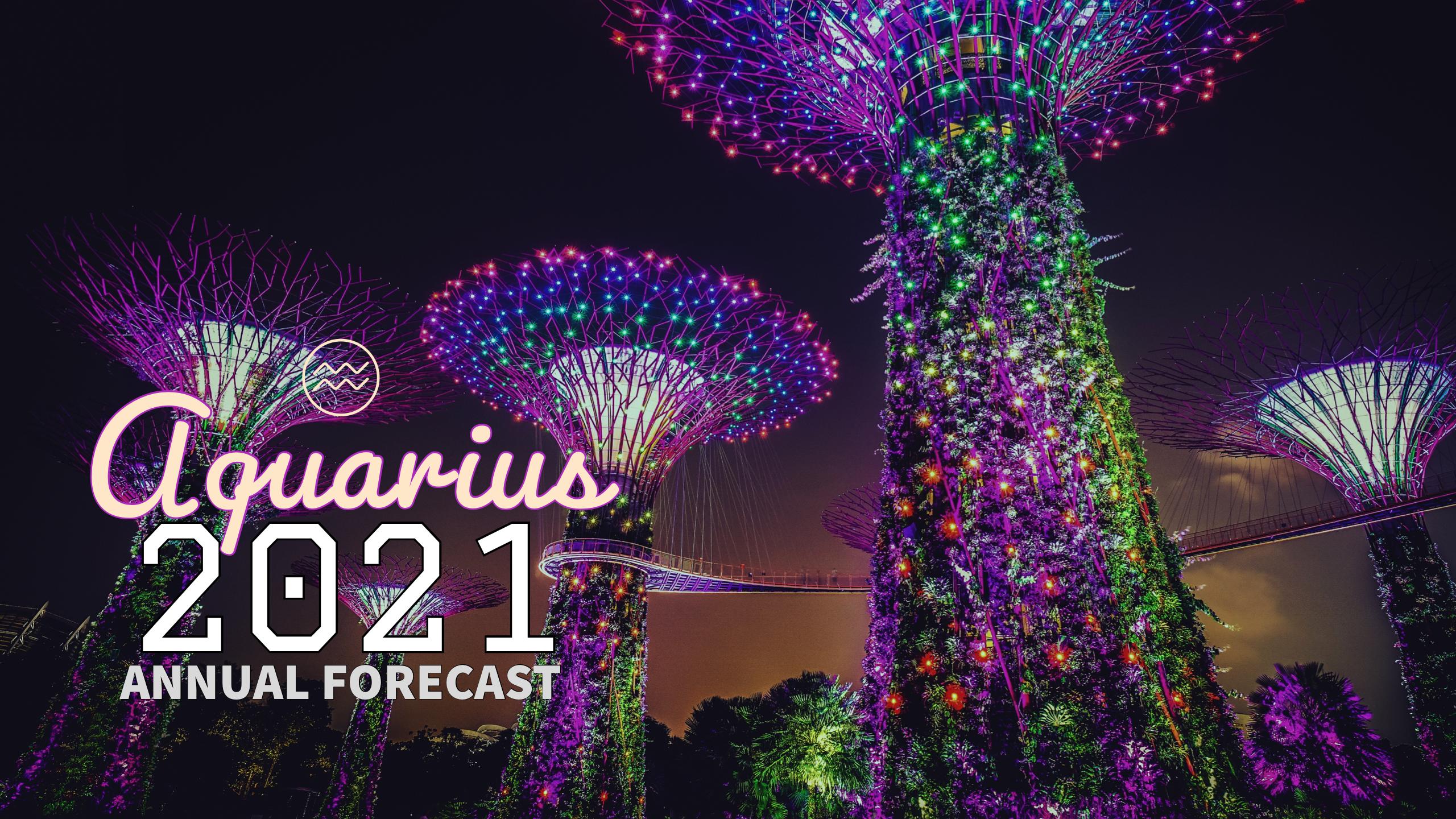 Annual Forecast 2021:Banner:11 Aquarius