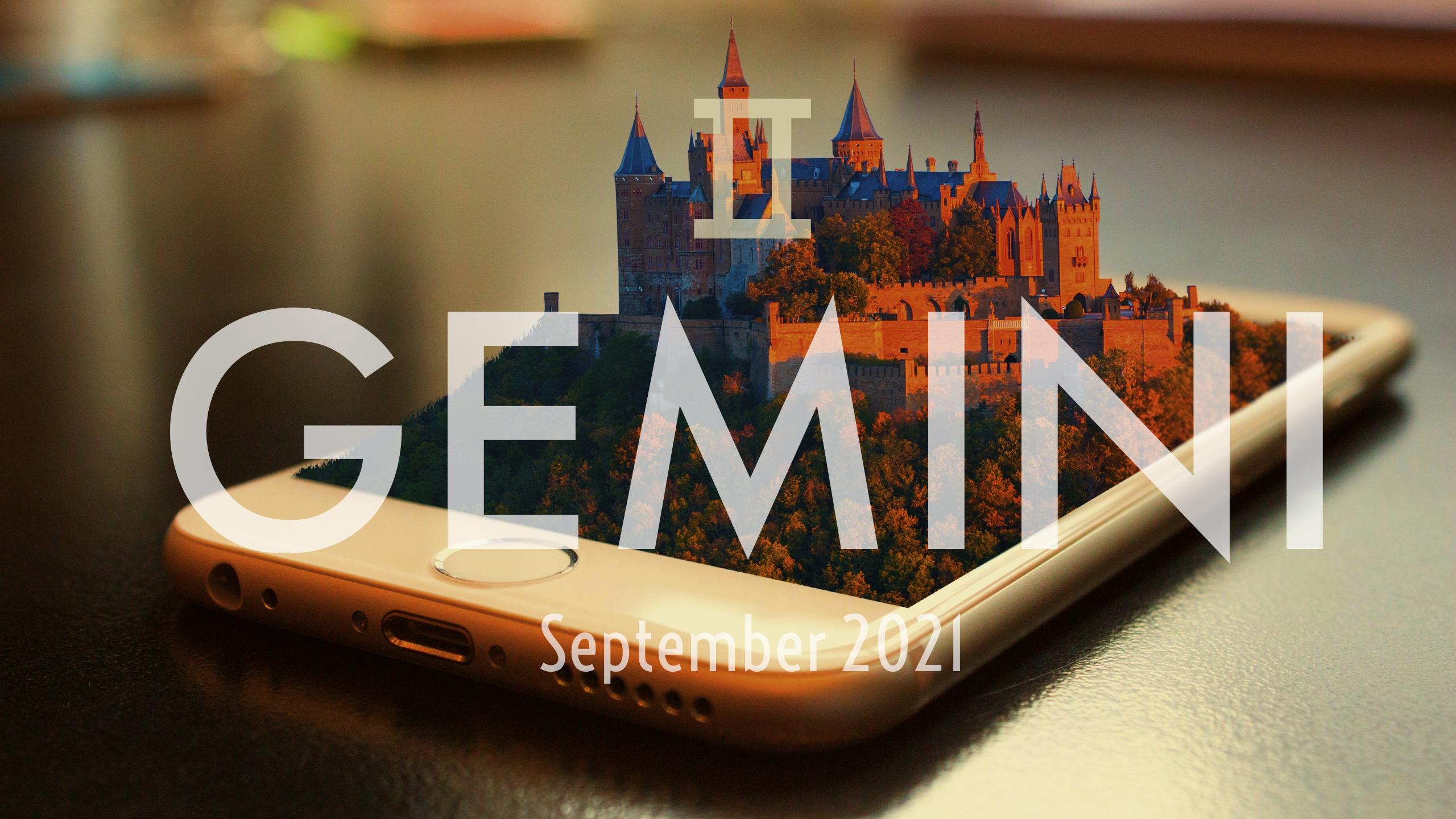2021 09:Banner:03 Gemini